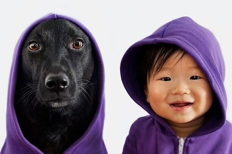 This Baby And His Dog Friend Are The Most Adorable Twins To Ever Exist | Dog Lovers | Scoop.it