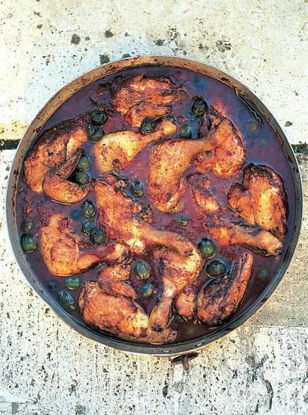 Pollo alla Cacciatora - Hunter's chicken stew, Le Marche, Among the Best Ever Regional Italian Recipes by Jamie Oliver | Le Marche and Food | Scoop.it