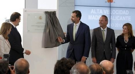 Pitos contra el Príncipe y Rajoy en la inauguración del AVE a Alicante | Spanish123456789101112131415 | Scoop.it