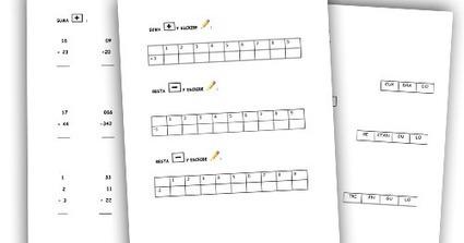 RECURSOS PRIMARIA | Actividades de Matemáticas de 1º para repasar en verano ~ La Eduteca | FOTOTECA INFANTIL | Scoop.it