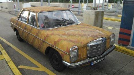 Gummy Bear-Covered Mercedes-Benz Spotted - BenzInsider.com - A Mercedes-Benz Fan Blog | Classic Mercedes | Scoop.it