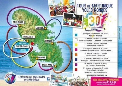 Découvrez les étapes du Tour des Yoles Rondes 2014 #Martinique | Actu Martinique | Scoop.it
