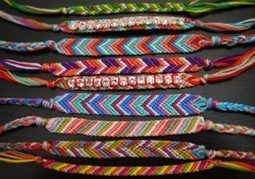 How to Make a Friendship Bracelet | DIY Macrame Jewelry Tutorials | Scoop.it