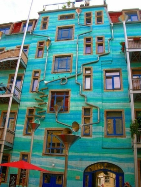 Arte Callejero. Edificio musical - HUMOR casi INTELIGENTE | Vulbus Incognita Magazine | Scoop.it