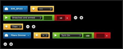 Simple exemple de scénario utilisant un détecteur de mouvement - Deltadomotique blog | FIBARO RGBW module de commande d'éclairage à LED | Scoop.it