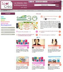 Les entrepreneurs ont enfin leur réseau : SPOT CREA !   Entrepreneur 2.0   Scoop.it
