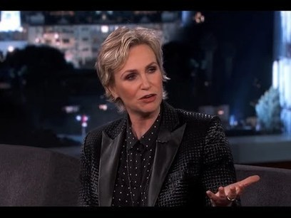 Jane Lynch on Jimmy Kimmel Live PART 2 | Money | Scoop.it