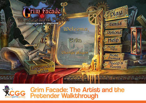 Grim Facade: The Artist and the Pretender Walkthrough: From CasualGameGuides.com | Casual Game Walkthroughs | Scoop.it