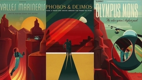 SpaceX releases travel posters to Mars | Tech-Geekery | Scoop.it