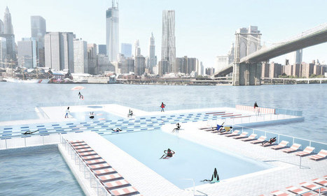 Born of the desire to swim in NEW YORK city's rivers +POOL:  The World's First Floating Water-Filtering Aquatic Facility, NYC | The Architecture of the City | Scoop.it