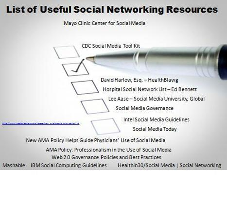 List of 20 Excellent Social Media Networking Resources : Health in 30 | Libraries and social media | Scoop.it