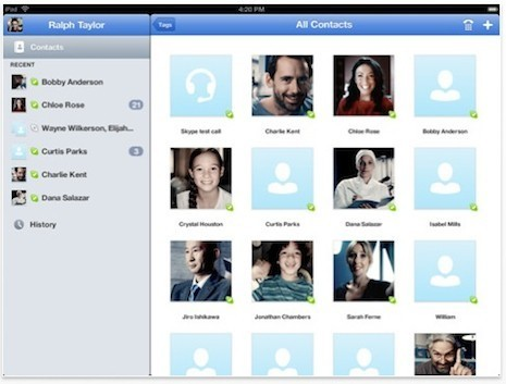 Skype for iPad released (in New Zealand) - TUAW - The Unofficial Apple Weblog | Tools You Can Use | Scoop.it