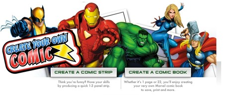 Create Your Own Comic | Games | Digital Delights - Avatars, Virtual Worlds, Gamification | Scoop.it
