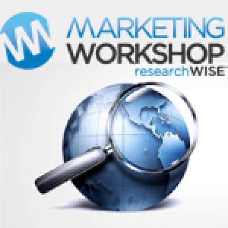 Marketing Workshop - Market Research Company Directory | Surveys | Scoop.it