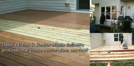 In Toledo OH, the painting contractor you can trust is Dave's Paint & Restorations | In Toledo OH, the painting contractor you can trust is Dave's Paint & Restorations | Scoop.it