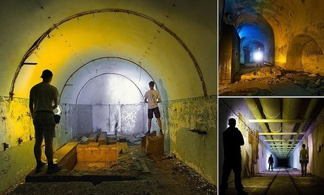 The nuclear cupboard is bare: Photographs of abandoned Crimean bunker which once stored atomic weapons reveal why Putin can act with such impunity | What's new in Visual Communication? | Scoop.it