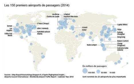 Transport aérien et mondialisation - Géoconfluences   Quoi de neuf sur le Web en Histoire Géographie ?   Scoop.it