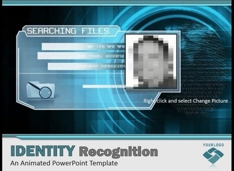 Cybercrime PowerPoint Template With Face Recognition Video Animation | template | Scoop.it