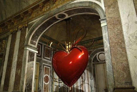 Jeff Koons: Hanging heart | Art Installations, Sculpture, Contemporary Art | Scoop.it