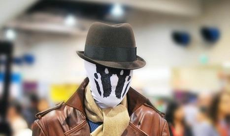 Unique Moving Rorschach Mask | inkblot mask | Scoop.it