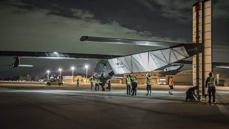 Solar plane takes off in 'moment of truth' for longest solo flight in history | Sustain Our Earth | Scoop.it