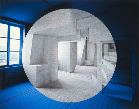 "Georges Rousse: ""Argentan""   Art Installations, Sculpture, Contemporary Art   Scoop.it"