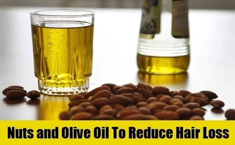 Stop Hair Loss with Olive Oil and Nuts | Making Your Own Home Remedies | Scoop.it