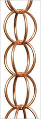 Pure Copper Rain Chains: Add appeal to the surroundings by installing a rain chain! | Rain Chains World | Rainchainsworld | Scoop.it