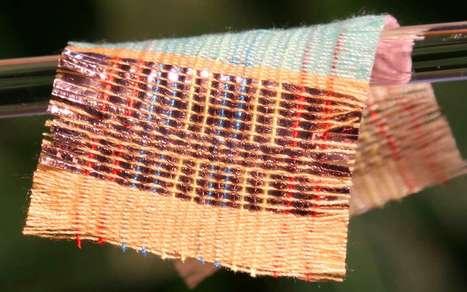 Textile intelligent : des vêtements qui génèrent de l'électricité | Vous avez dit Innovation ? | Scoop.it