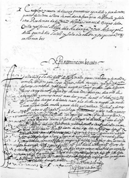 La maltratada de 1624 que sí ganó el pleito | Reflejos | Scoop.it