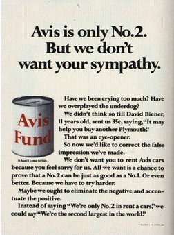 The Sell! Sell! Blog: Advertising Greatness #2: Avis | A Cultural History of Advertising | Scoop.it