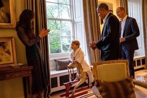 Prince George's $39 robe sells out after he wears it while meeting the Obamas | Kickin' Kickers | Scoop.it
