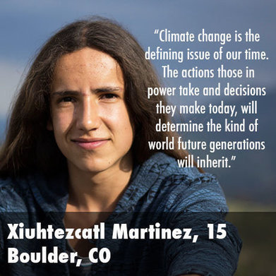 Youth Sue Obama Administration Over Climate Change | Climate change challenges | Scoop.it