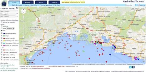 Carte en temps réel des navires - AIS - trafic maritime et positions | Nos Racines | Scoop.it