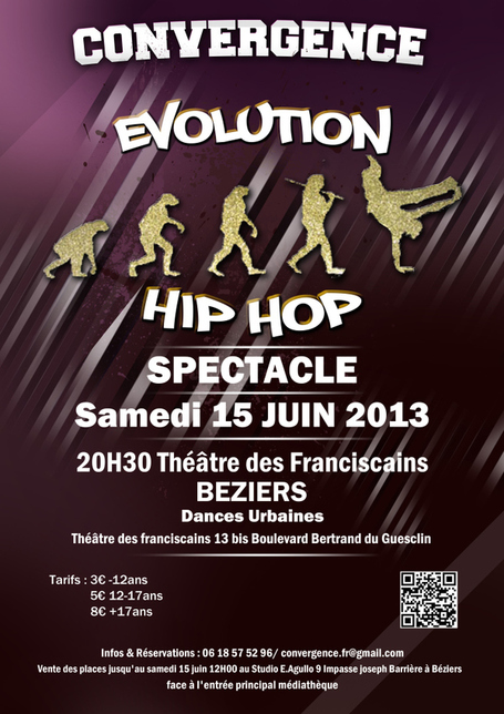 BÉZIERS SAMEDI 15 JUIN SPECTACLE HIP HOP (DANSES URBAINES) | Expositions • Exhibitions | Scoop.it
