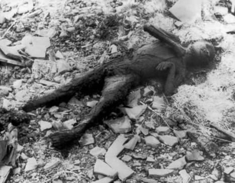 Bombardement de Nagasaki : l'horreur vue d'en bas | Images à voir | Scoop.it