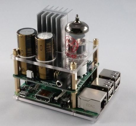 Clearly your Raspberry Pi needs a tube amp (crowdfunding) | Raspberry Pi | Scoop.it