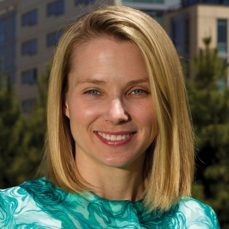 Marissa Mayer Put in a Weekend's Worth of Work Designing New Yahoo Logo | Smaht! Ideas | Scoop.it