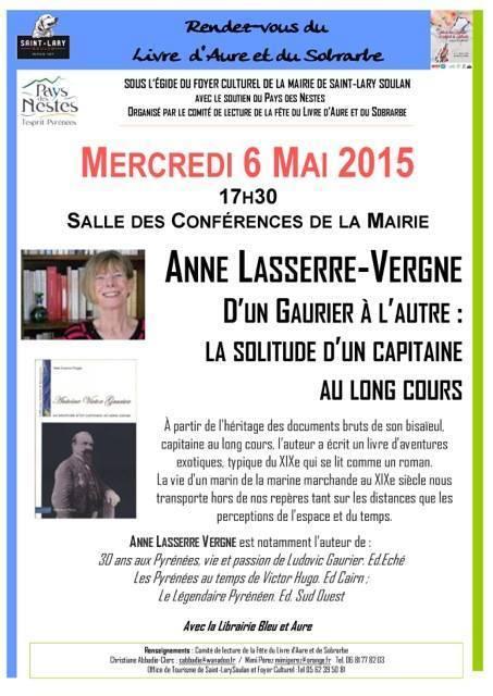 Conférence littéraire à Saint-Lary le 6 mai | Vallée d'Aure - Pyrénées | Scoop.it