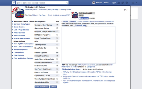 Facebook Purity, la extensión que te da más control sobre tu perfil   Educación   Scoop.it