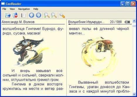 Cool Reader: un cómodo lector de libros electrónicos, multiplataforma y bajo licencia GNU | Recull diari | Scoop.it