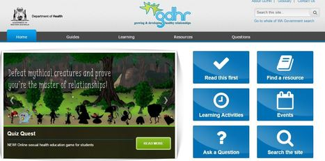 Curriculum support for teachers in relationships and sexual health education - GDHR Portal | Australian Health | Scoop.it