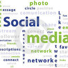 social media infographics and typography