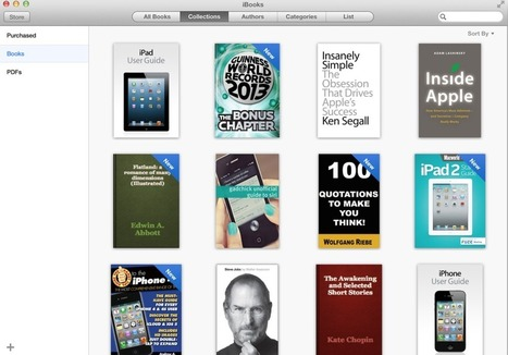 Latest OS X Mavericks Preview showcases iBooks for Mac [Gallery ...   Apple   Scoop.it