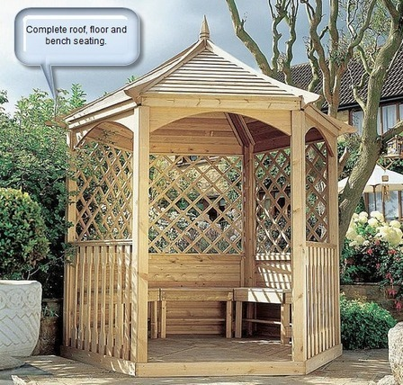 what is the difference between a gazebo arbor