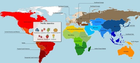 This map shows where your food really comes from – and it might surprise you | SemioFood | Scoop.it