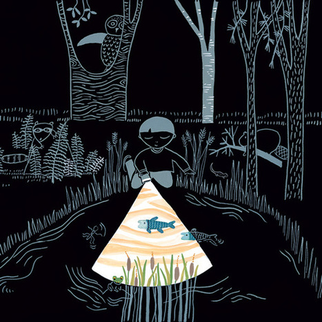 Flashlight: A Whimsical Wordless Story about Curiosity and Wonder ~ Brain Pickings | Scriveners' Trappings | Scoop.it