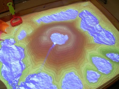 Augmented Reality Turns a Sandbox into a Geoscience Lesson - Eos | EdTech Evolution - Mapping the Intersection of tech, innovation, and instruction | Edtech PK-12 | Scoop.it