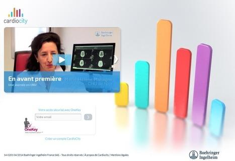 Cardiocity : plateforme web destinée aux professionnels de santé   Marketing digital des laboratoires pharmaceutiques   Scoop.it