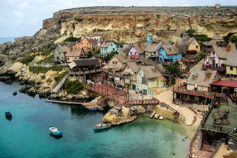 Anchor Bay in Malta   The Best Places in the World to Travel   Scoop.it